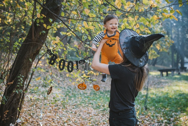 Another old wives' tale about Halloween is that you could curse your baby if they're born on the holiday.