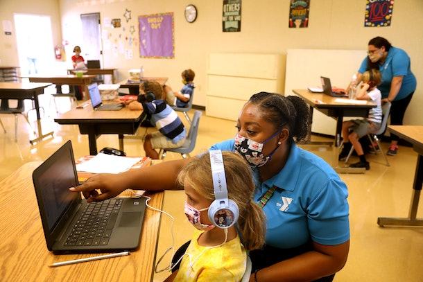 YMCA Teacher Helps Student in California