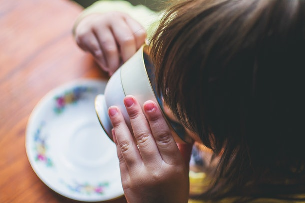 Toddlers love their tea parties, but toddlers drinking tea when sick is something that should be done with an abundance of caution.
