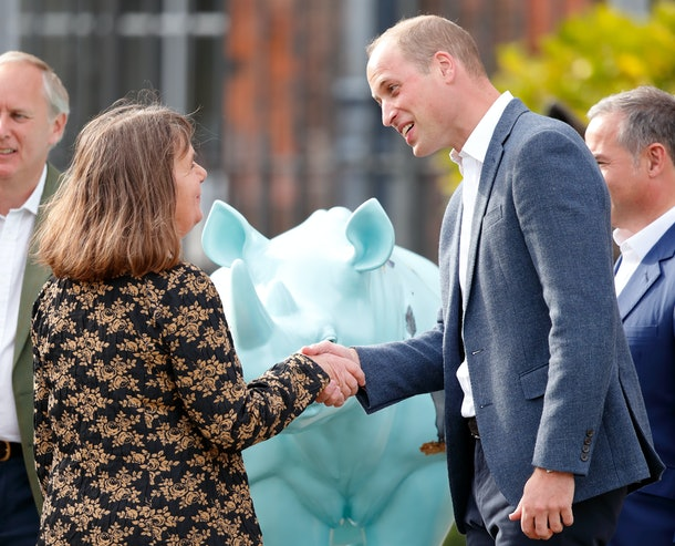 Prince William is a super fan of children's book author Julia Donaldson.