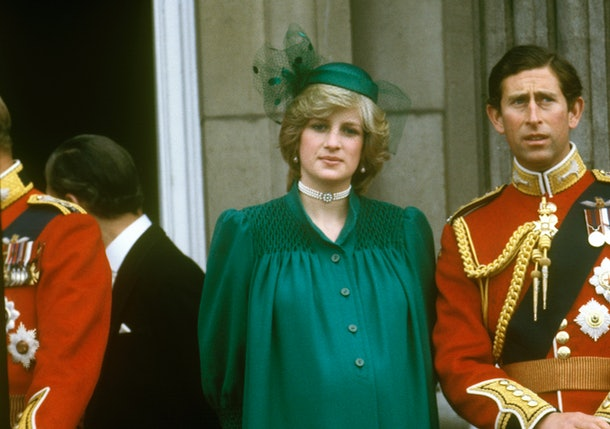 Princess Diana favored green dresses as well