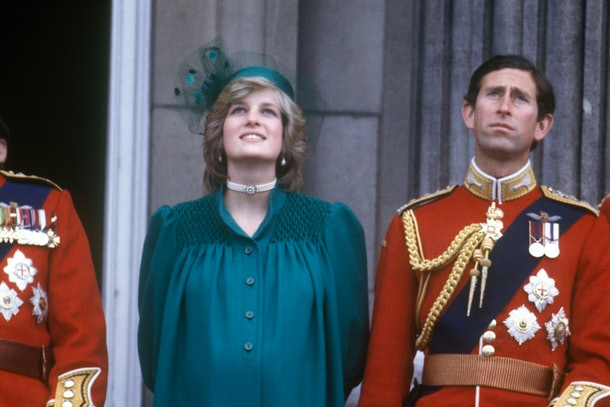 She wore a similar ensemble to Trooping the Colour in 1982
