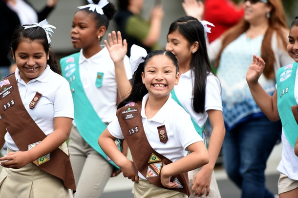 Girl Scouts have always been a group of diverse, strong girls.