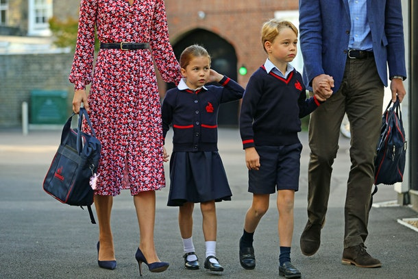 """Prince George and Princess Charlotte's curriculum will be """"taught through online learning platforms,"""" the school announced."""