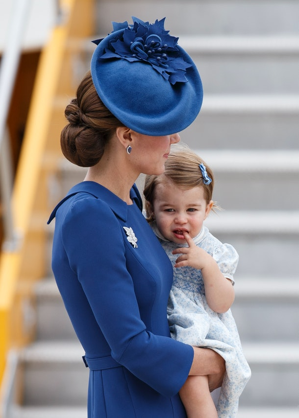 Princess Charlotte was likely teething here