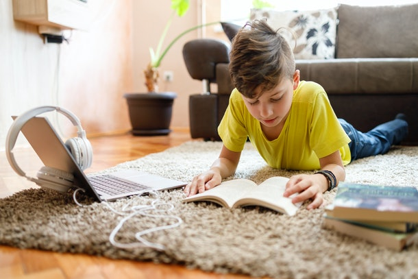 Reading independently before doing other activities is one practical tip from parents during homeschooling.