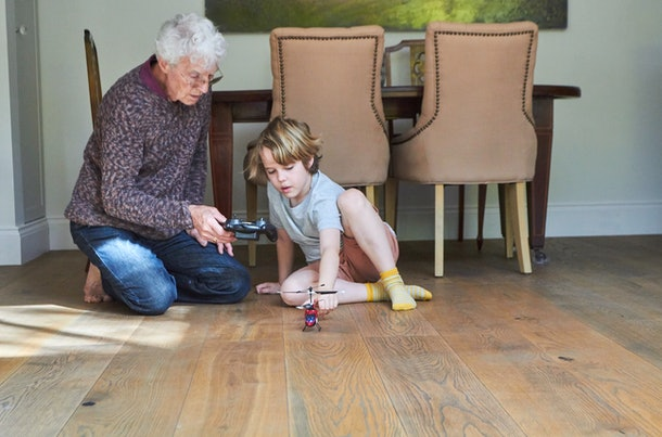 Families are now assessing the risks of seeing grandparents as pandemic orders shift.