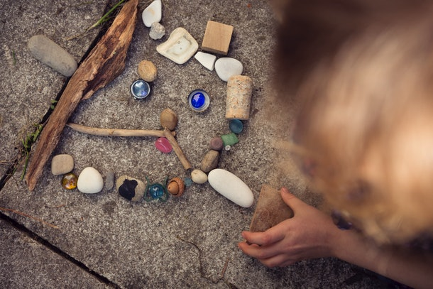 Science says collecting is instinctual for children, and gives them security and comfort.