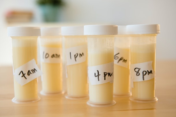 An orange or yellow tint to your breast milk is totally fine, according to experts.