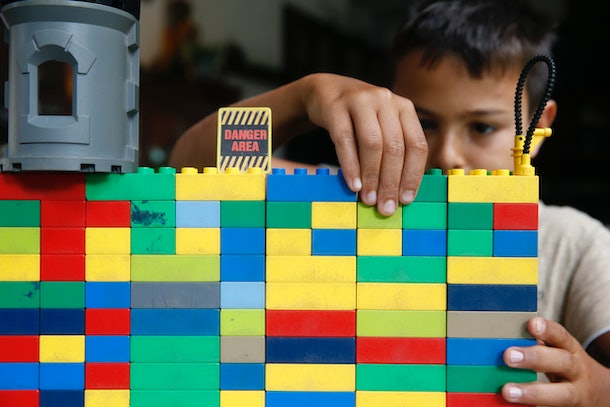 Building LEGOs is one thing your kids can do during school break time to help their brains.