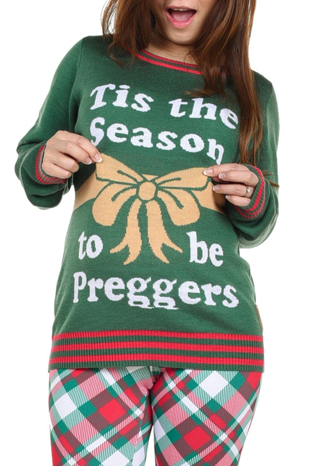 12 Maternity Ugly Christmas Sweaters Ftw