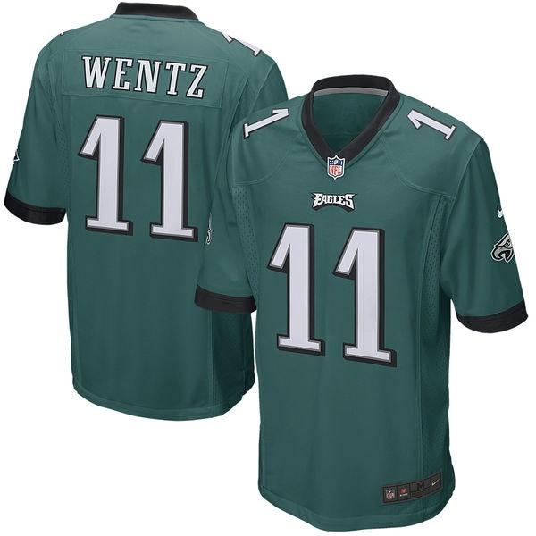 2Carson Wentz Philadelphia Eagles Game Jersey c504effb9