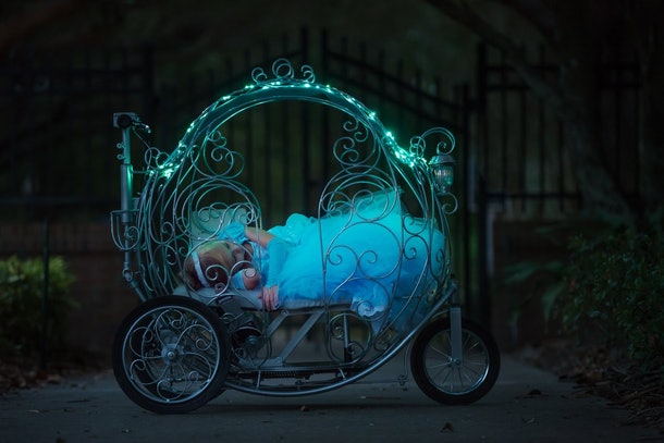 Disney World S Cinderella Carriage Strollers Will Make All