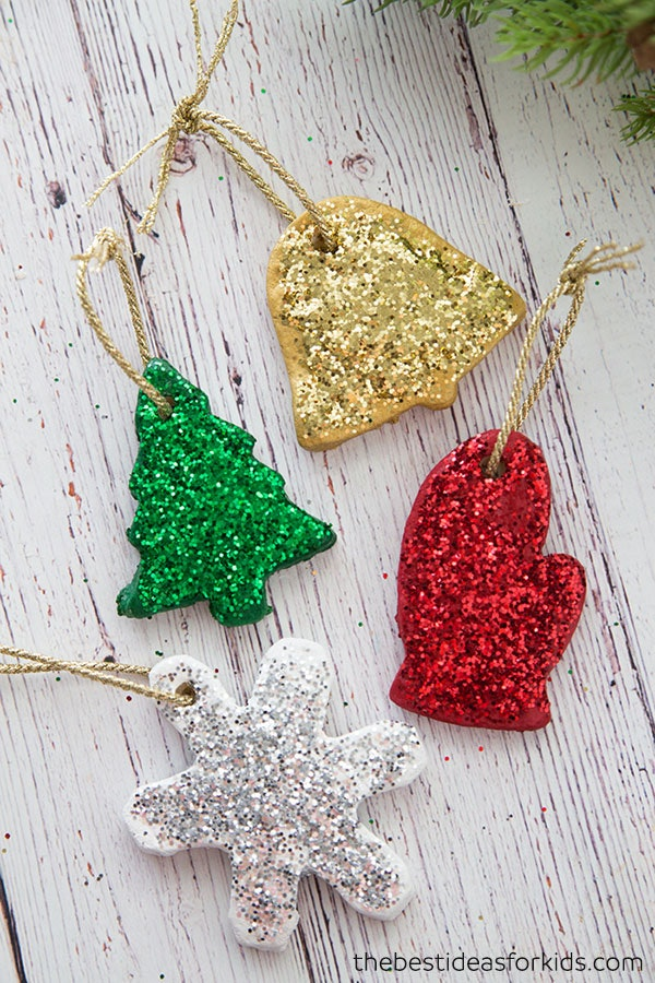 12 Easy Christmas Ornaments Kids Can Make Without ...