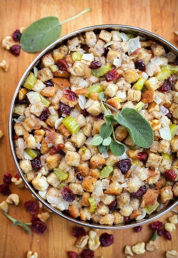 Save time by making this stuffing recipe in your Instant Pot for Friendsgiving 2019.