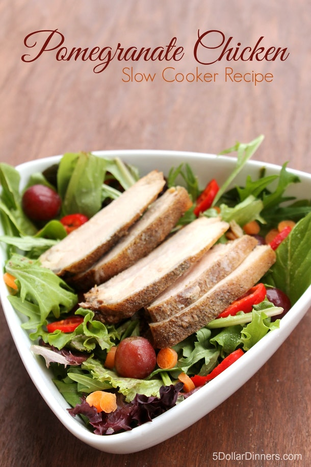 cooked chicken on a salad