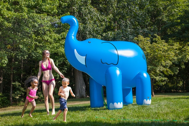 This Ginormous Unicorn Sprinkler Literally Needs To Be In