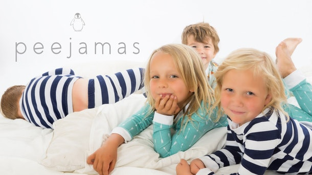 "92b92692 4195 4221 a1a7 101b15e33dd5 peejamas covershot logoweb - ""Peejamas"" Are A Thing, & They Could Help Solve Your Kid's Bedwetting Problem"