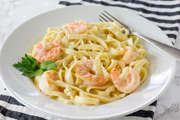 Instant Pot Recipes For Valentine's Day, instant pot shrimp alfredo