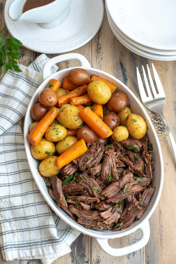 Instant Pot Recipes For Valentine's Day, instant pot pot roast