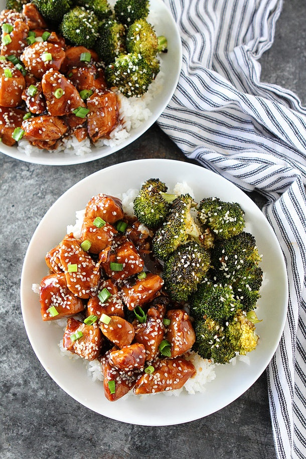 Instant Pot Recipes For Valentine's Day, instant pot honey sesame chicken