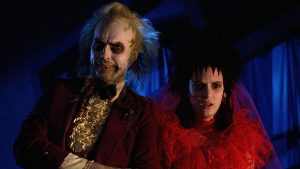 Beetlejuice & Lydia in 1998's Beetlejuice Movie
