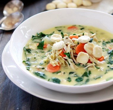 Lemon chicken and orzo soup instant pot recipe