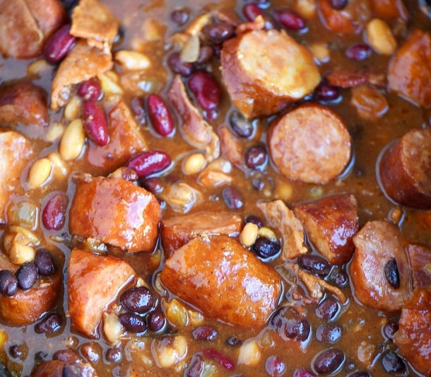 kielbasa and baked beans instant pot recipe