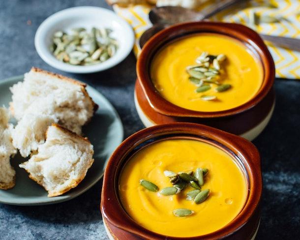Autumn Harvest Butternut Squash Soup instant pot recipe