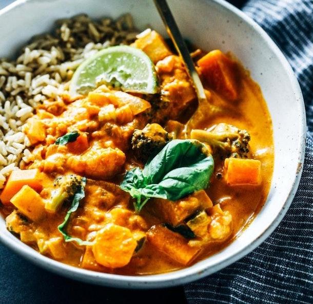 thai red curry instant pot recipe