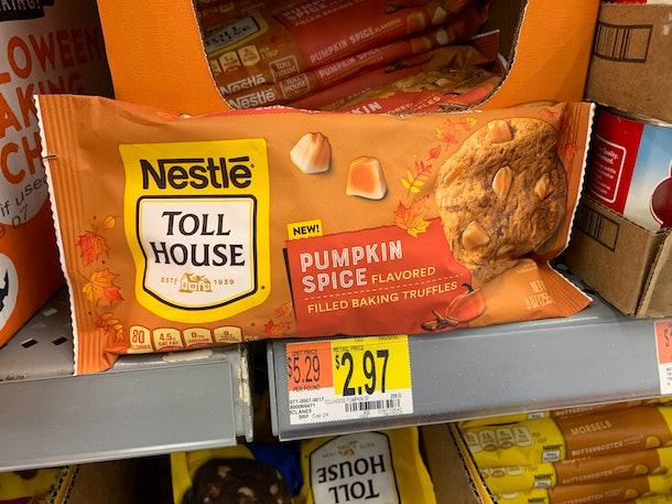 Nestle Toll House Pumpkin Spice Truffles