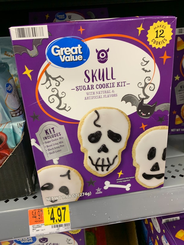 Skull Sugar Cookie Kit