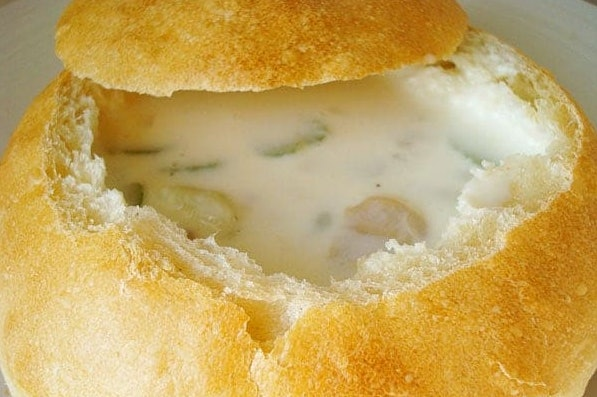 The Classic Boston Clam Chowder recipe from Mel's Kitchen Cafe is a creamy, delicious dish