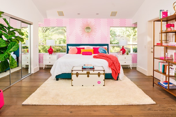 Master bedroom at barbie malibu dream house