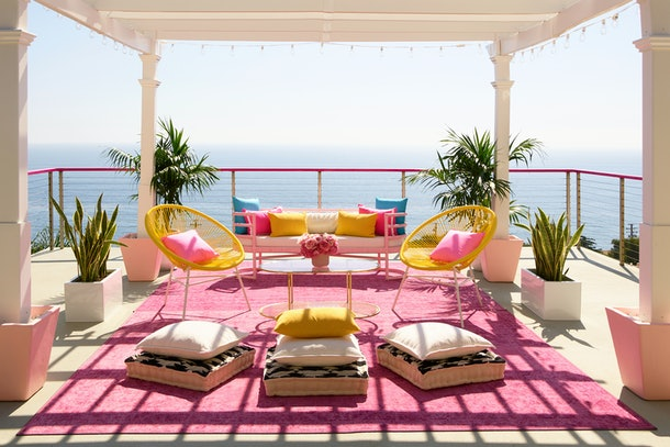 Meditation room at barbie malibu dreamhouse