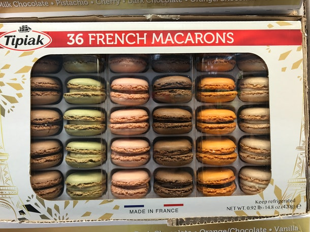 Tipiak French Macarons from Costco