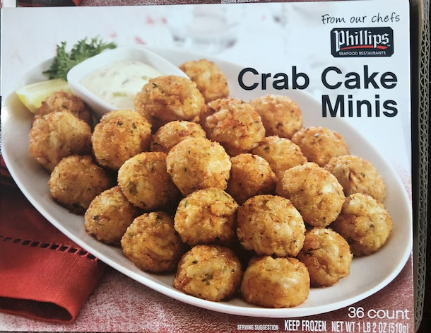 Phillips Crab Cake Minis from Costco