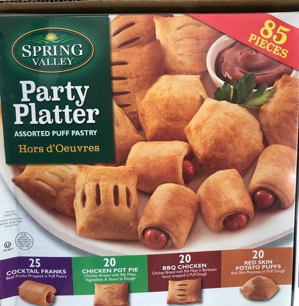 Spring Valley Party Platter from Costco