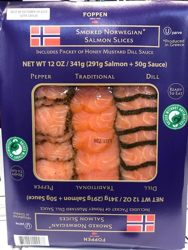 Foppen Smoked Norwegian Salmon Slices