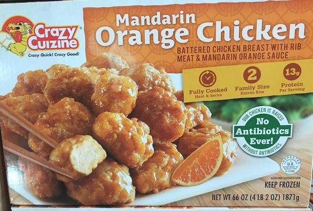 Crazy Cuizine Mandarin Orange Chicken from Costco
