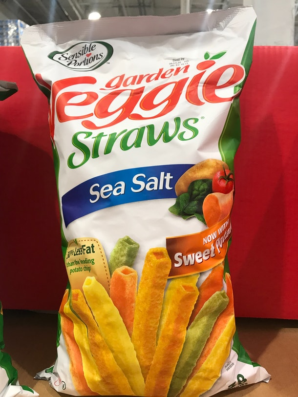 Sensible Portions Garden Veggie Straws from Costco
