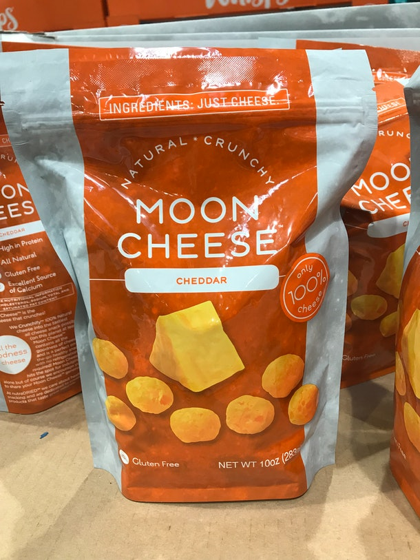 Moon Cheese from Costco