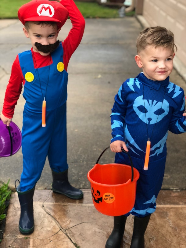 Even though it's rushed, celebrating Halloween on Oct. 31 is priceless family fun.