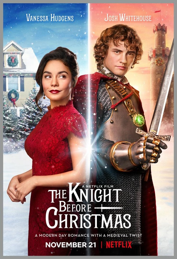 Knight Before Christmas Movie Poster
