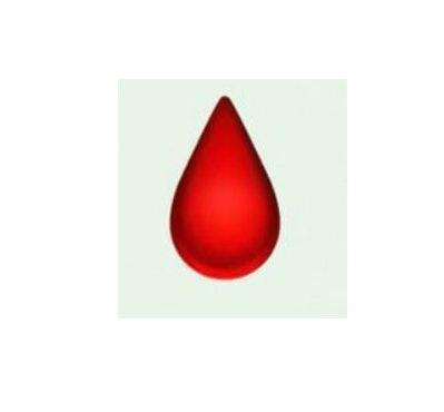 blood drop emoji