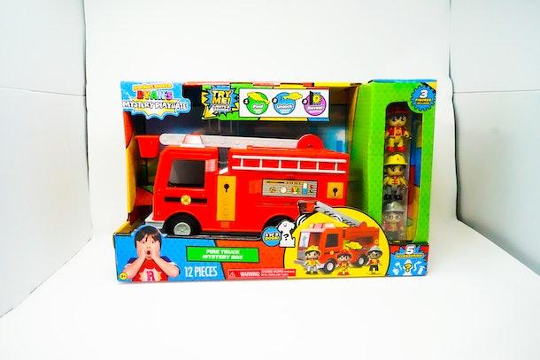 Ryan's World Mystery Fire Truck In Box