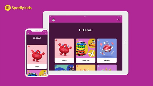 Spotify's kids app content was curated by experts.