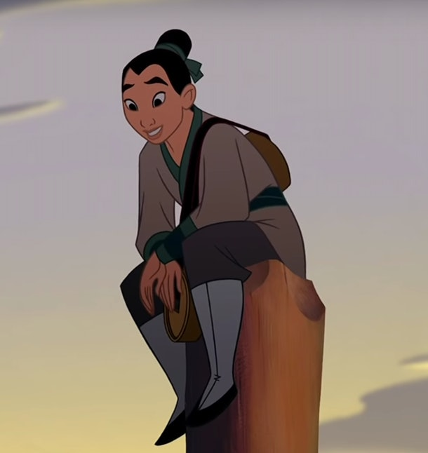 Princesses who are badasses have the qualities that the character Mulan has