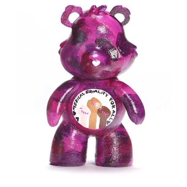 Michelle Williams Care Bear  Medical Equality For All Bear