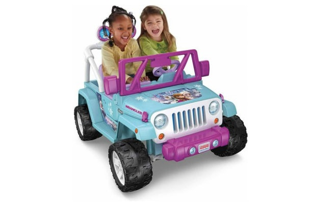 Walmart has a Frozen Jeep Wrangler.